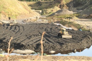 Clean up work from 2011 at Kerdiffstown Landfill