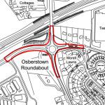 Sallns Rd roundabout