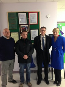Senator Power and myself met with Parents Group from Naas CNS in December.