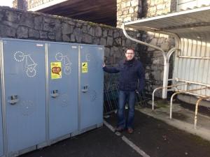James Lawless bike lockers