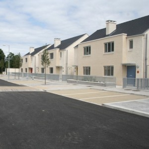 Sample of recent KCC social housing built in Sallins.