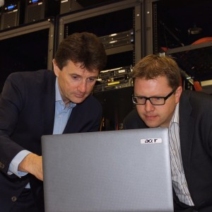 With Brian O'Donoghue, Managing Director of Imagine.