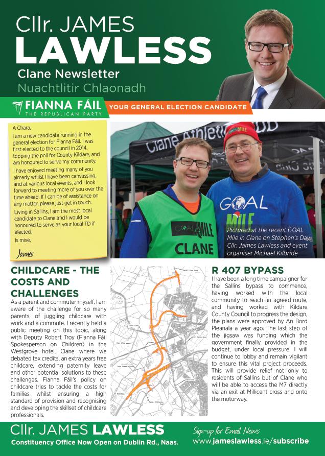 Clane newsletter Jan 2016 pg1