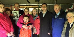 Frank Burke's Family at Carbury Feild Day with James Lawless T.D.