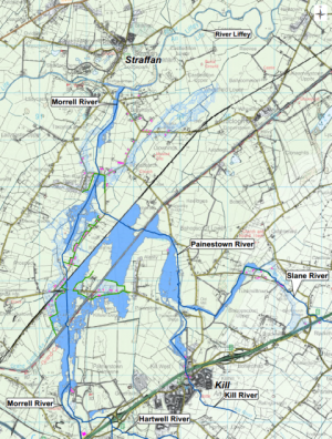 Morrell flood relief map small