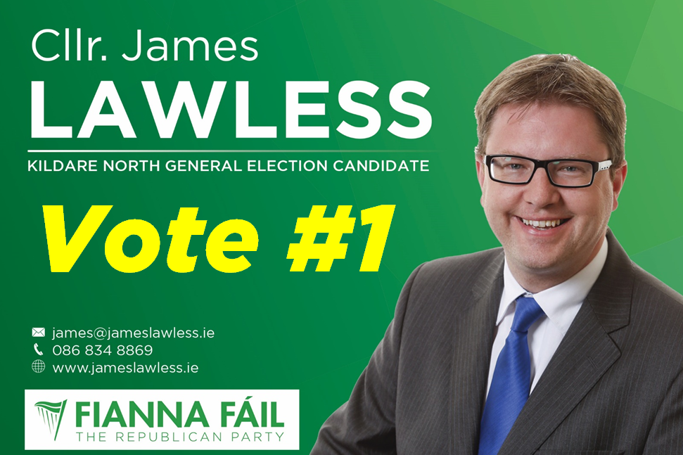 Vote James Lawless no1 2016