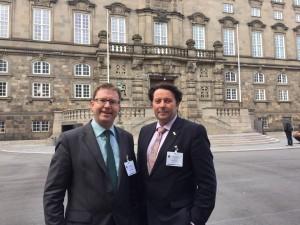 With Bill Boslew MP