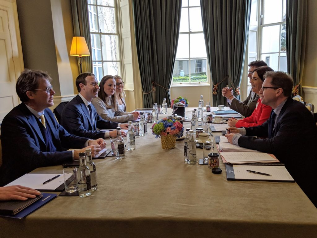 James Lawless TD | Meeting with Facebook CEO Mark Zuckerberg